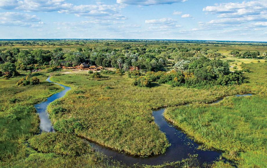 Camp Okavango in Botswana