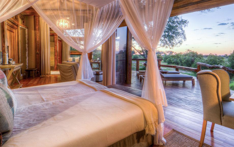 Camp Okavango Bedroom