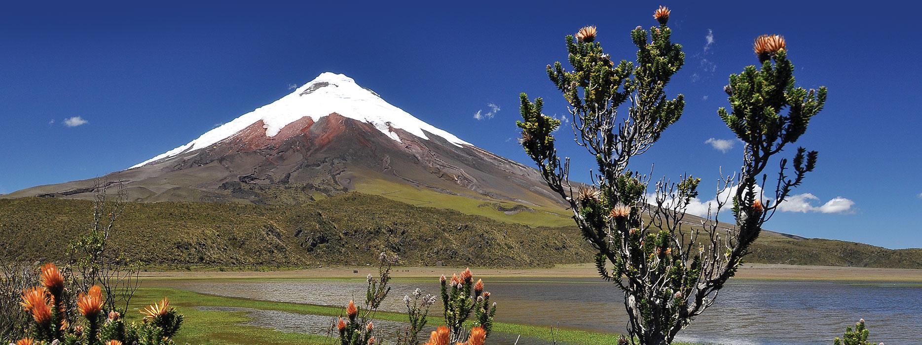 Cotopaxi Volcanoe in Ecuador