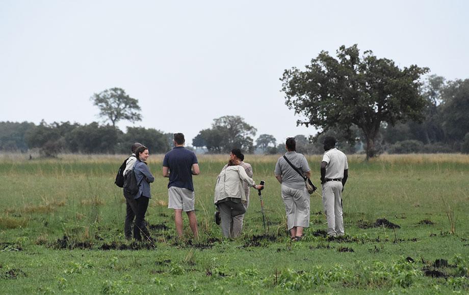 Eva in Botswana