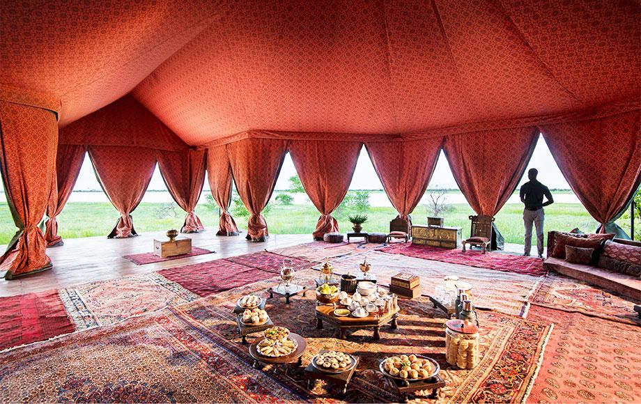 Jacks Camp Persian Tea Tent