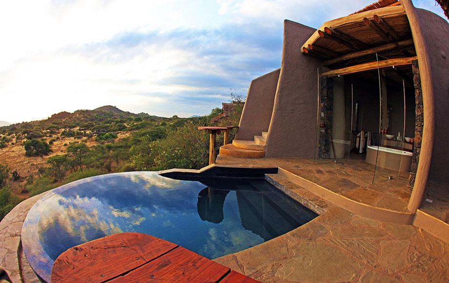 Ol Donyo Lodge Private pool
