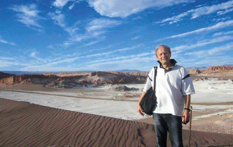 Rolf in the Atacama Desert