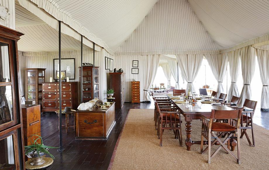 San Camp Dining Room