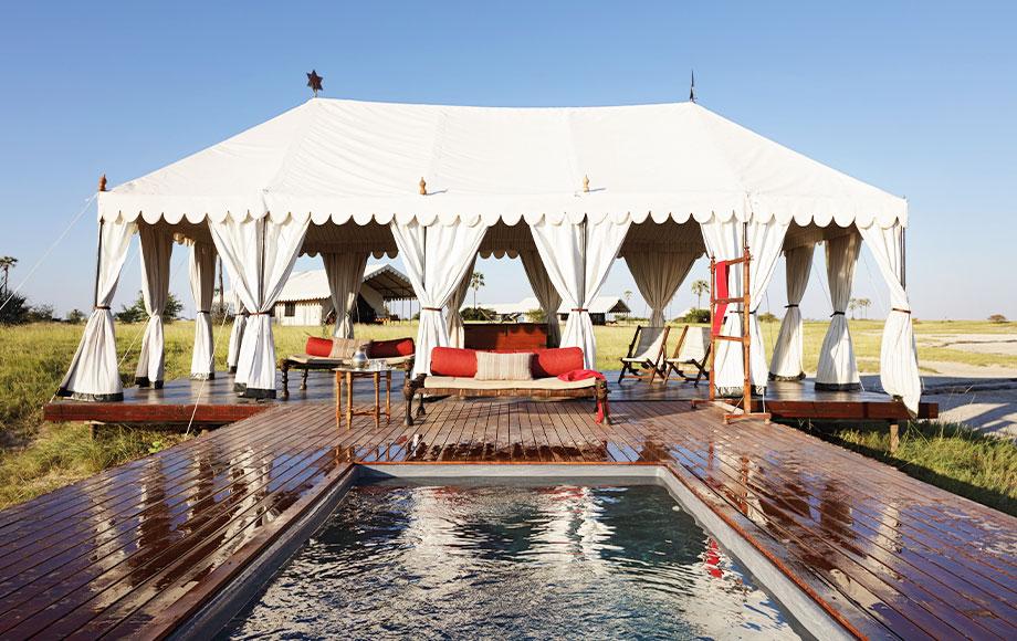 San Camp outdoor Swimming Pool