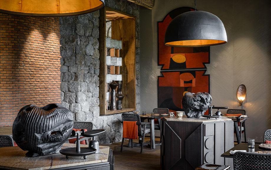 Singita Kwitonda Dining Area