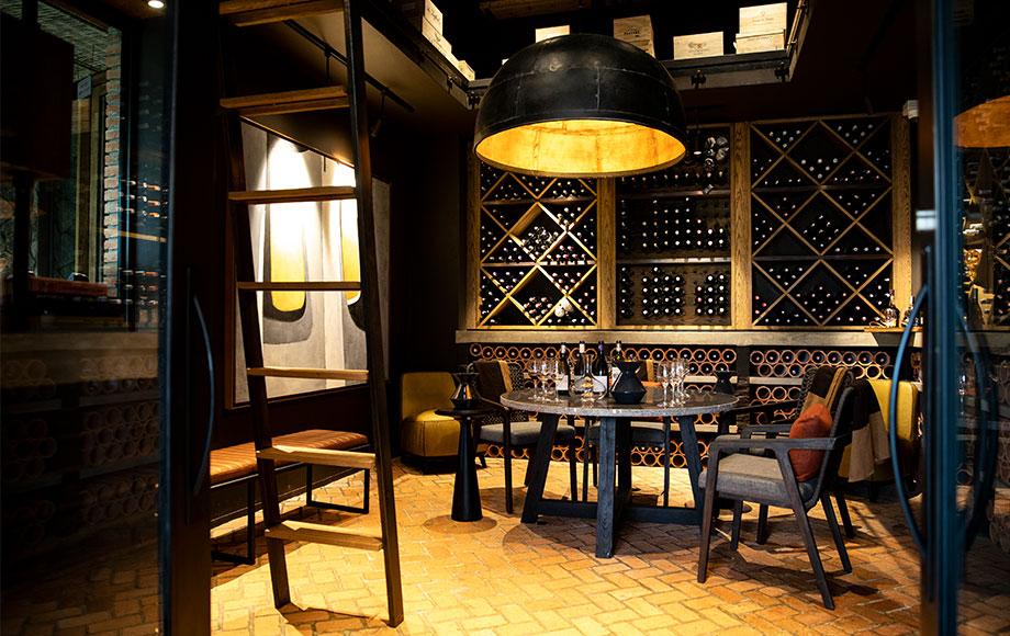 Singita Kwitonda Wine Cellar