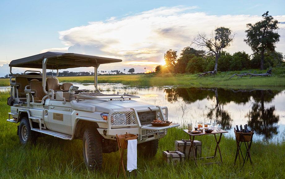 Xigera Safari Lodge Sundowners