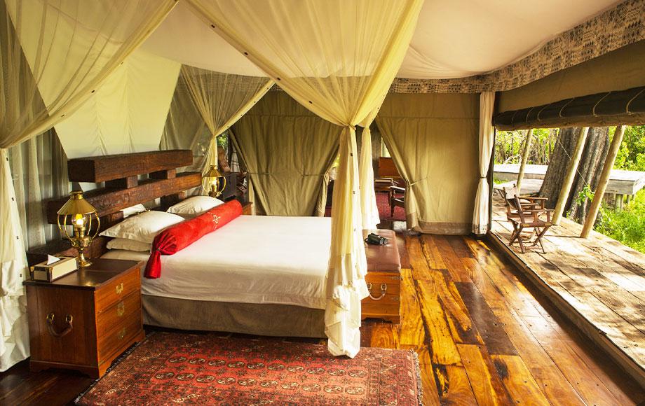 Zarafa Camp Bedroom
