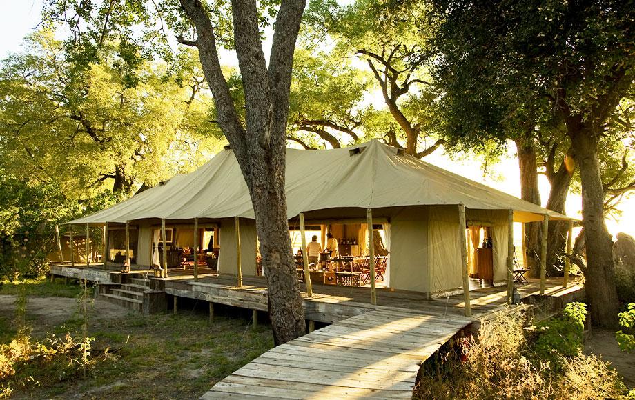 Zarafa Camp in Botswana