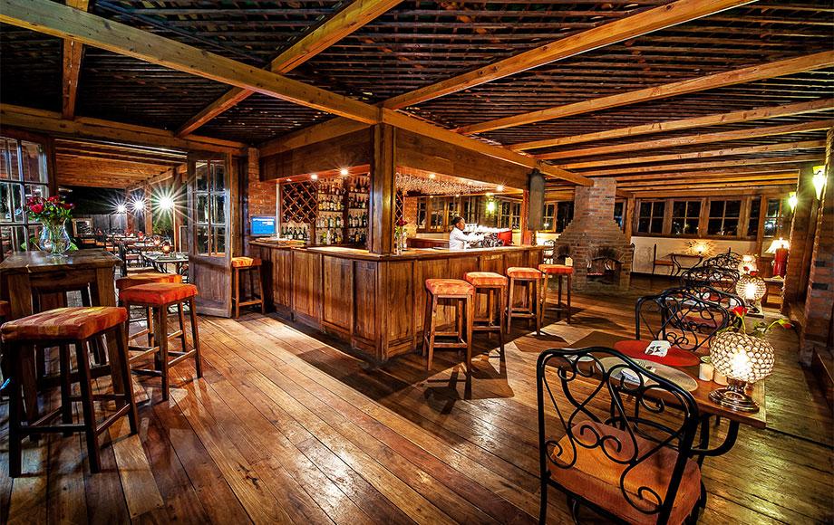 Arusha Coffee Lodge Bar Area
