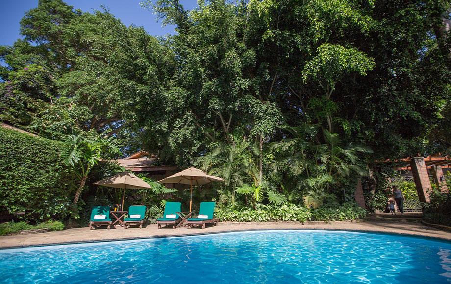 Arusha Coffee Lodge Pool