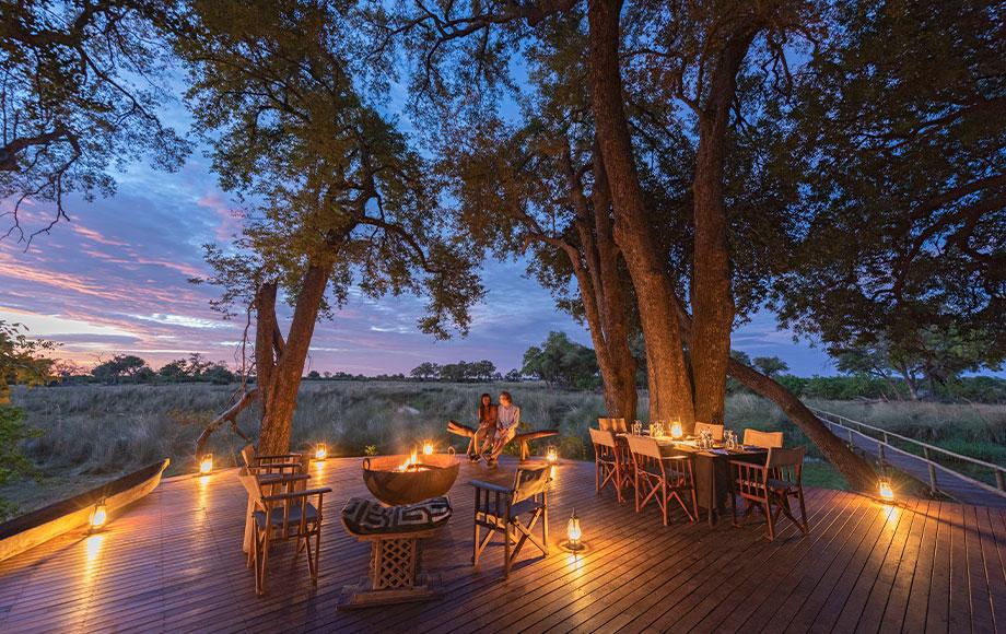 Duba Explorers Camp Dinner Area