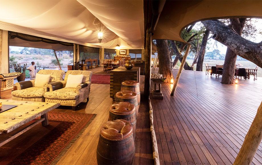 Duba Explorers Camp Main Area