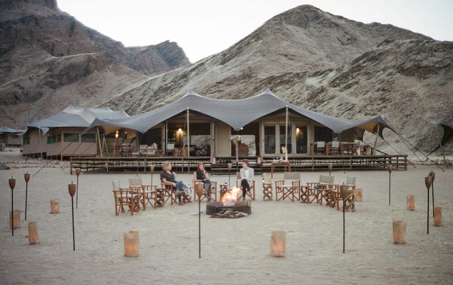 Hoanib Valley Camp Main Area