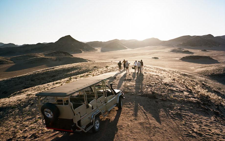 Safari Drive from Hoanib Valley Camp