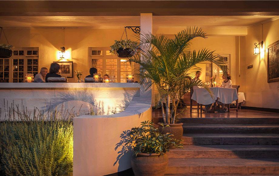 Legendary Lodge Dining Area