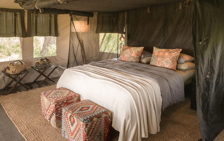 Migrational Camp Bedroom