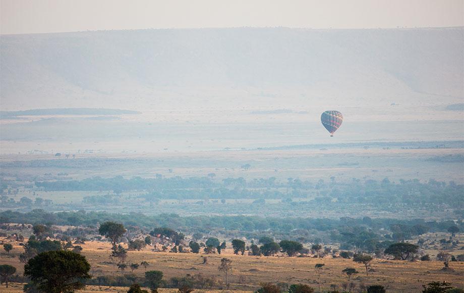 Hot air Ballooning over the Serengeti