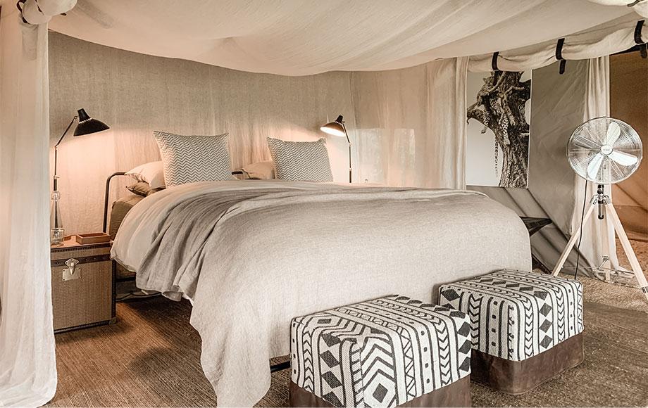Mila Tented Camp Bedroom