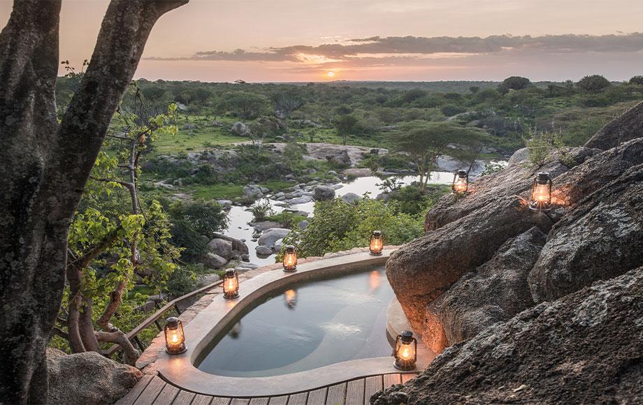 Mwiba Lodge Private Pool