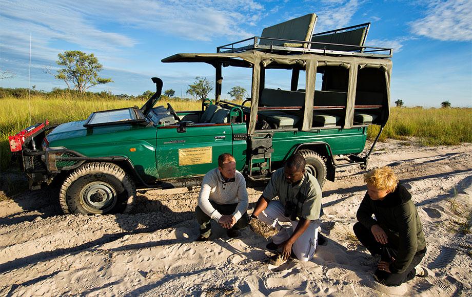 Game Drive at Mapula Lodge