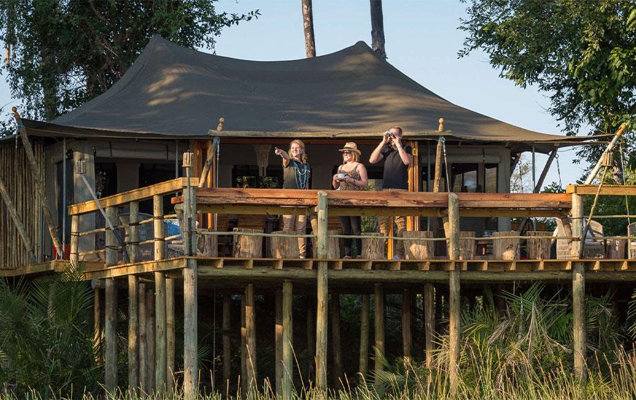 Pelo Camp guest tent