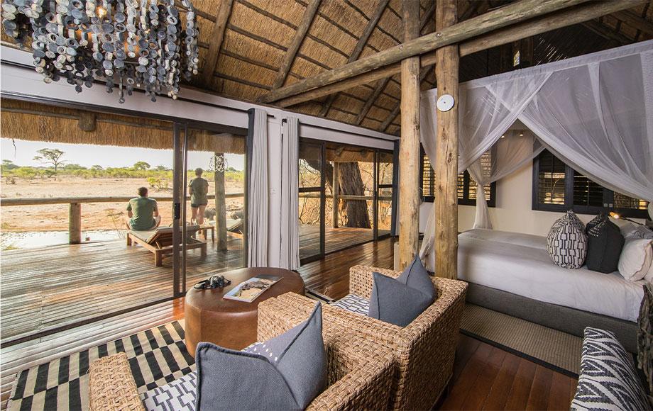 Safari Lodge Guest room