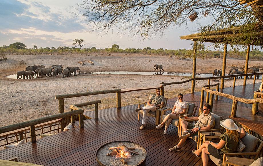 Safari Lodge Out door main area