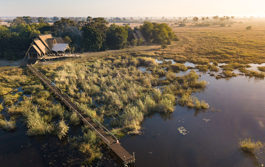 Selinda Camp in botswana