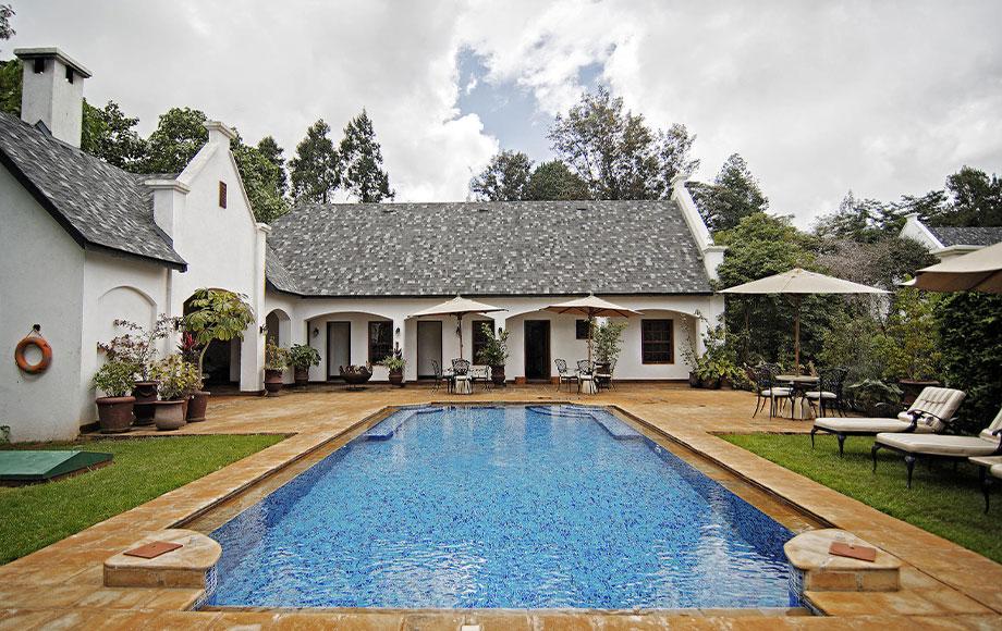 The Manor at Ngorongoro Crater Swimming Pool