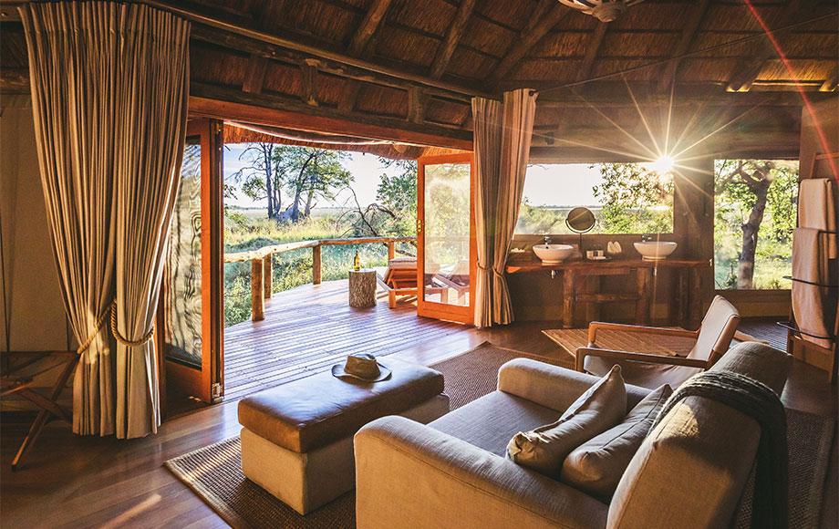 Camp Moremi Bedroom
