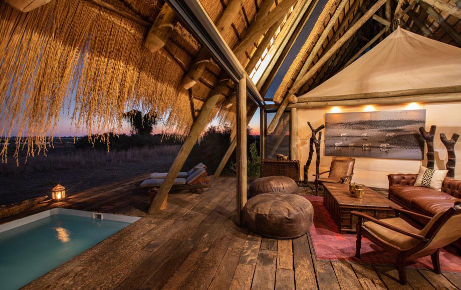 Selinda Suite Bedroom