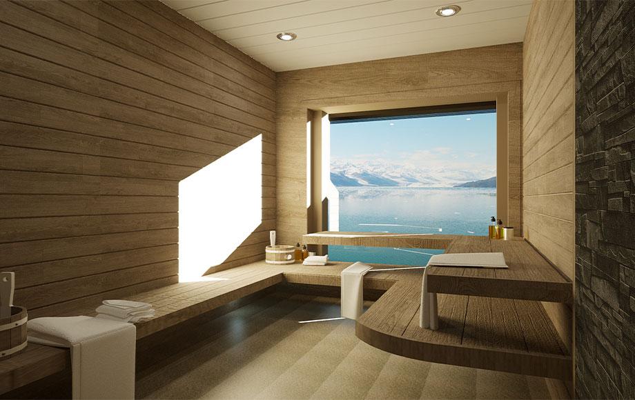 Ocean Albatros Sauna