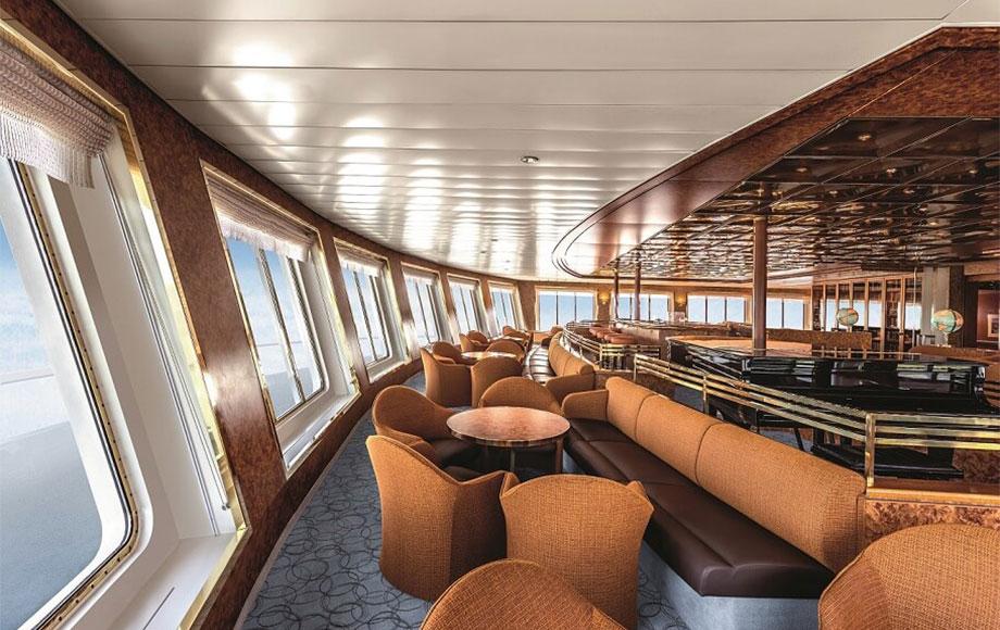 Heritage Adventurer Observation Lounge