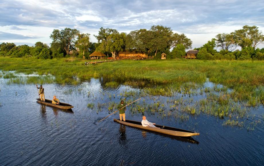 Mokoroing in the Okavango Delta