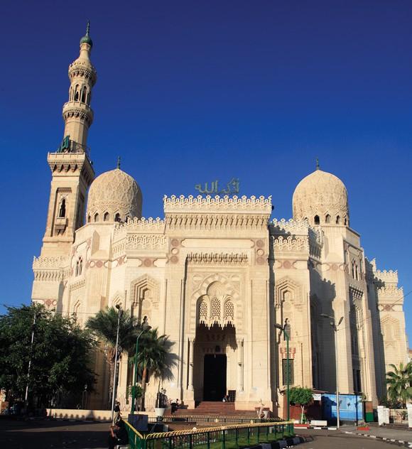 Abu Al Abbas Mosque in Alexandria Egypt