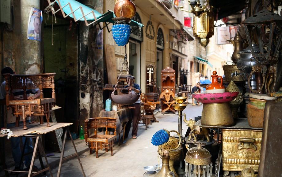 Atarine Souk Antiques in Alexandria Egypt