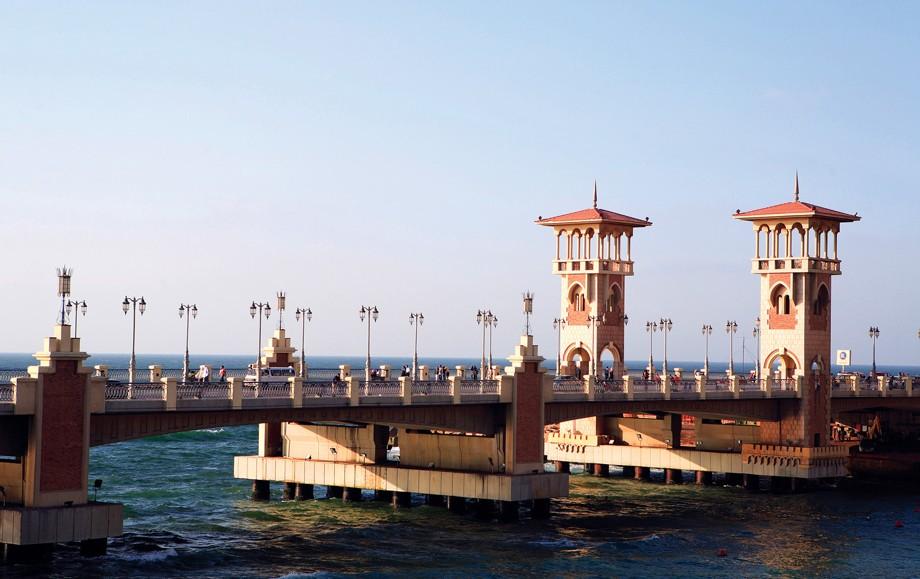 The Stanley Bridge in Alexandria Egypt