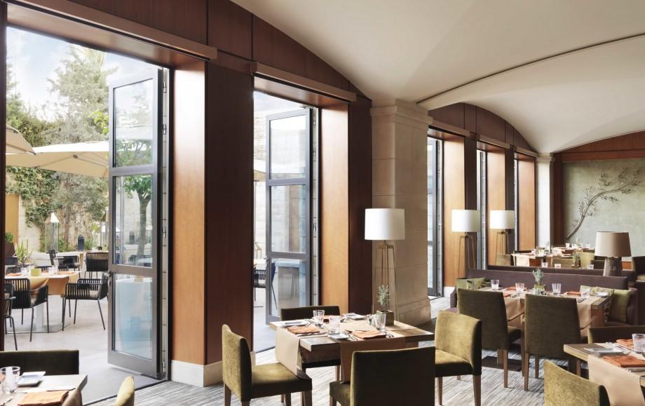 Four Seasons Amman dining room