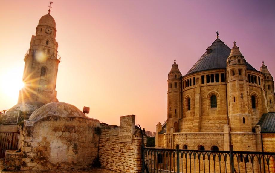 Dormition Abbey in Israel