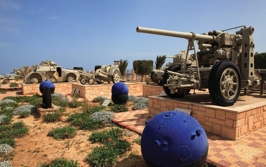 The El Alamein War Museum in Egypt