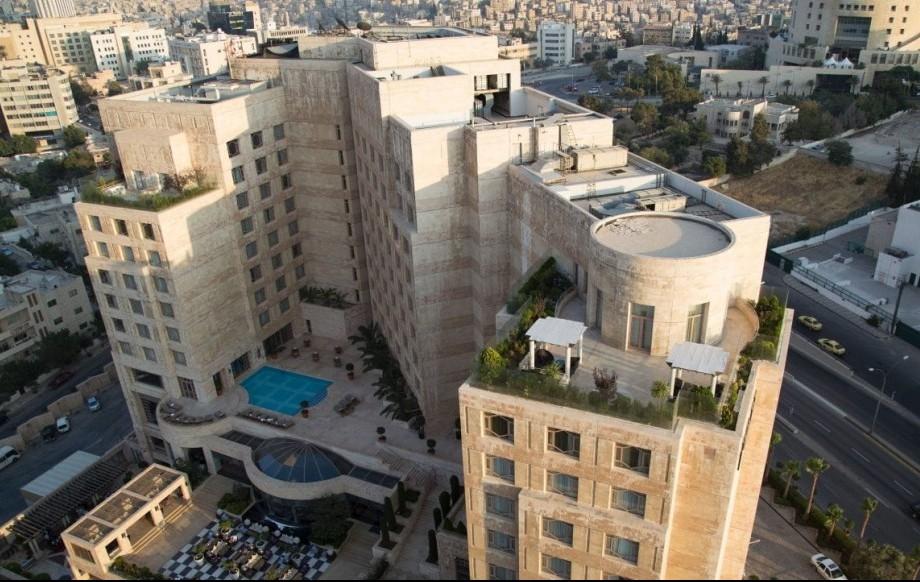 Grand Hyatt Amman exterior