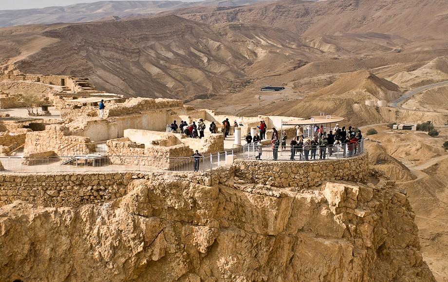 The Masada in Israel