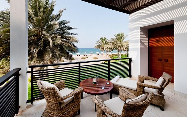 The Chedi outside terrace