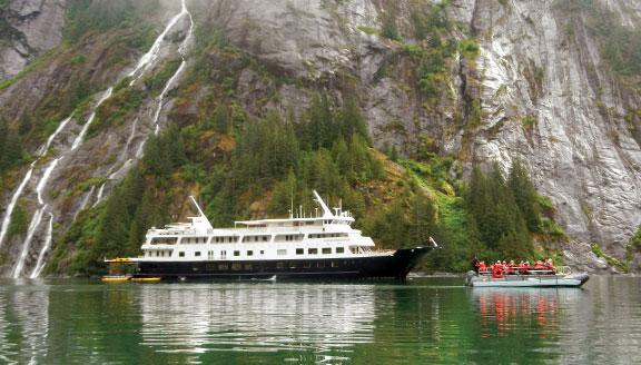 Alaska small ship cruise
