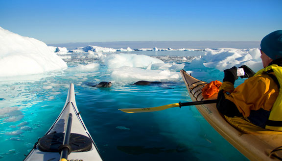 Antarctic Peninsula Cruises kayaking