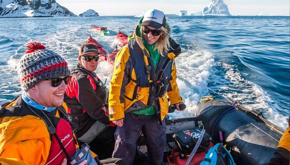 Sub-Antarctic Islands Cruises Zodiac Excursions