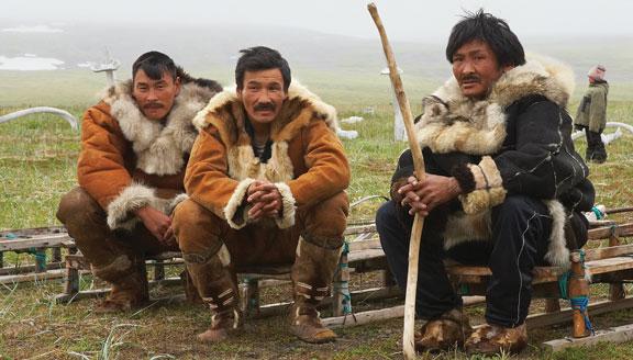 Traditional Inuit communities