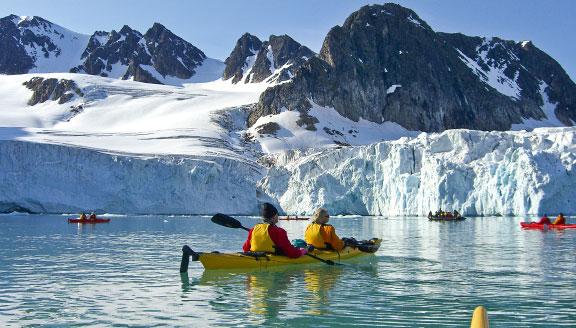 Canadian Arctic kayaking